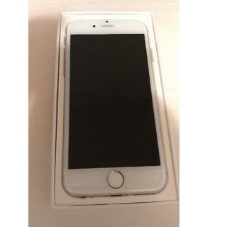 アイフォーン(iPhone)の極美品Simフリー!iPhone6S  64GB  シルバー(スマートフォン本体)