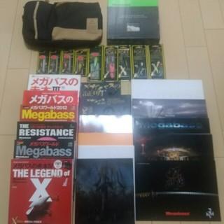 メガバス(Megabass)のメガバス ルアー、カタログ、雑誌、バッグセット(ルアー用品)