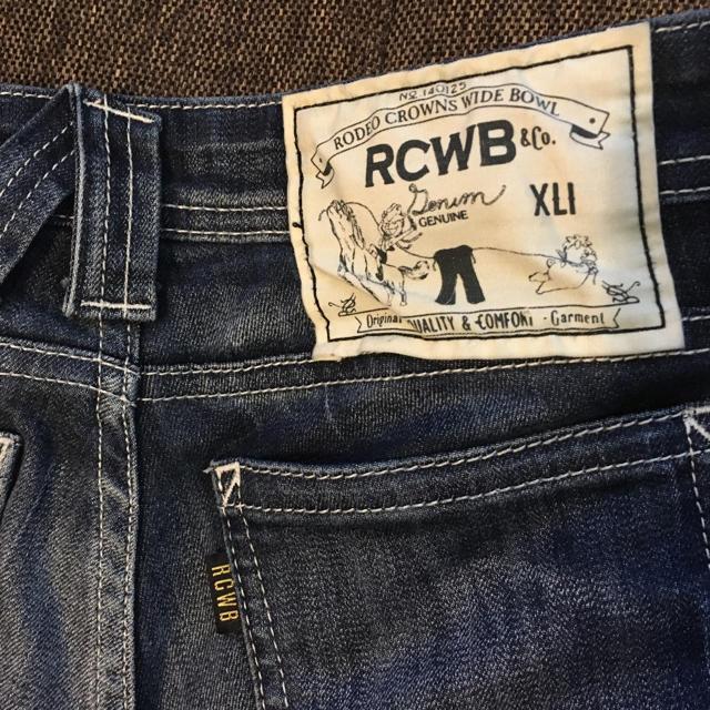 RODEO CROWNS WIDE BOWL(ロデオクラウンズワイドボウル)の⦅ckmm様専用⦆美品 Rodeo crowns デニム RCWB 25 レディースのパンツ(デニム/ジーンズ)の商品写真