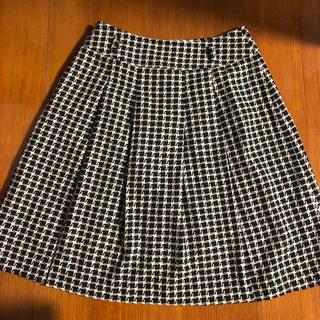 シーディーエスベーシック(C.D.S BASIC)の千鳥柄 スカート(ひざ丈スカート)