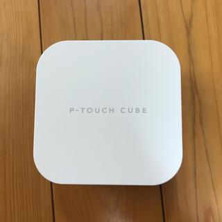 ブラザー(brother)のピータッチキューブ(P-TOUCH CUBE)PT-P300BT(OA機器)