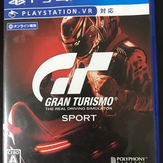 プレイステーション4(PlayStation4)のグランツーリスモsport 美品 PS4(家庭用ゲームソフト)