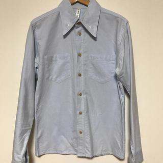 グラム(glamb)のglamb オックスフォードシャツ ブルー(シャツ)