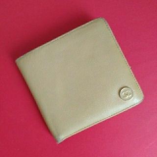 シャネル(CHANEL)のCHANEL❤ココマーク レザー折り財布(財布)