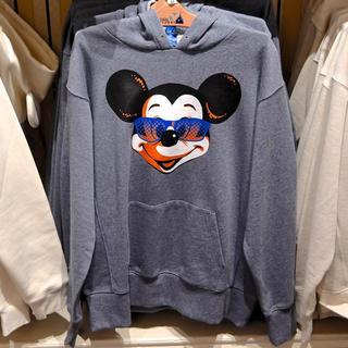 ディズニー(Disney)の美品 ディズニーランド ディズニーシー ミッキー サングラス パーカー スエット(パーカー)