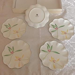 コウランシャ(香蘭社)の有田焼 香蘭社 BONE CHINA 小皿5枚+大皿(食器)