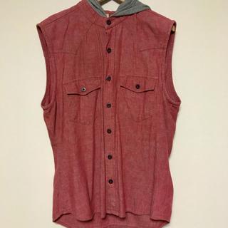 グラム(glamb)のglamb ノースリーブシャツ ピンク(シャツ)