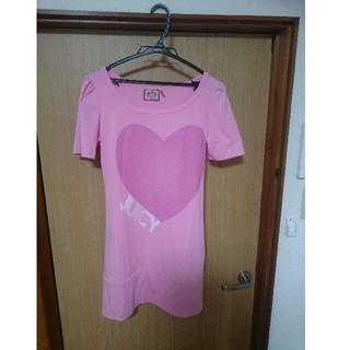 ジューシークチュール(Juicy Couture)のTシャツ JUICYCOUTURE  ジューシークチュール ワンピース 海 ヨガ(Tシャツ(半袖/袖なし))