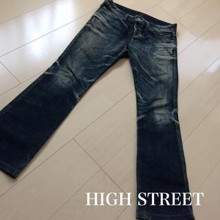 ハイストリート(HIGH STREET)の美品 ☆ HIGH STREET ☆ ハイストリート ☆ デニム ☆ M(デニム/ジーンズ)