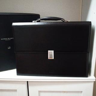 ダンヒル(Dunhill)の正規品♡美品♡ダンヒル ビジネスバッグ 黒 書類ケース メンズ スーツ バッグ(ビジネスバッグ)