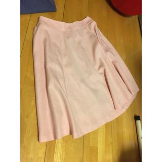 トゥエルブアジェンダ(12Twelve Agenda)のピンク 膝丈スカート(ひざ丈スカート)