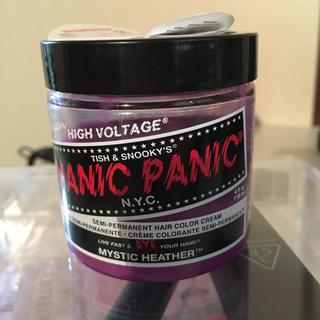 マニックパニック(紫)ポイントカラークリーム(カラーリング剤)