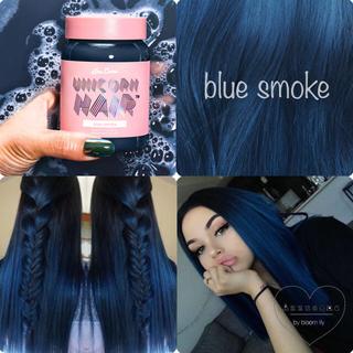 ライムクライム(Lime Crime)のLimecrime Unicorn Hair Blue smoke(カラーリング剤)