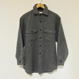 MeltonビンテージCPOシャツジャケット(アメリカ製)(カバーオール)