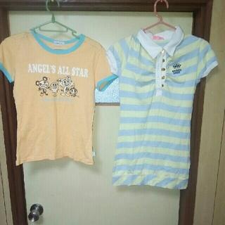 エンジェルブルー(angelblue)のエンジェルブルーTシャツ&ワンピースセット(Tシャツ/カットソー)