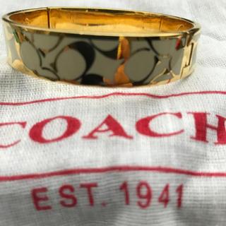 コーチ(COACH)の【COACH】バングル  (少々難あり)(ブレスレット/バングル)