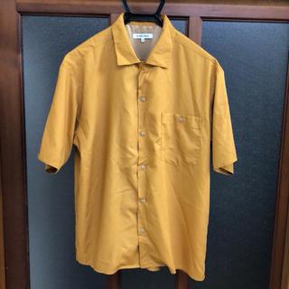 グローバルワーク(GLOBAL WORK)の未使用 レーヨンオープンシャツ半袖 Sサイズ(シャツ)
