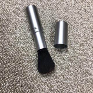 ムジルシリョウヒン(MUJI (無印良品))の無印良品 携帯チークブラシ(コフレ/メイクアップセット)