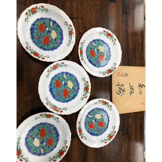 和皿 五枚セット 木箱付(漆芸)