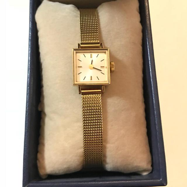 H.P.FRANCE(アッシュペーフランス)の【美品】induna腕時計 レディースのファッション小物(腕時計)の商品写真
