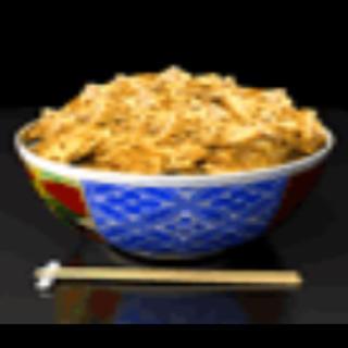 牛丼(健康茶)