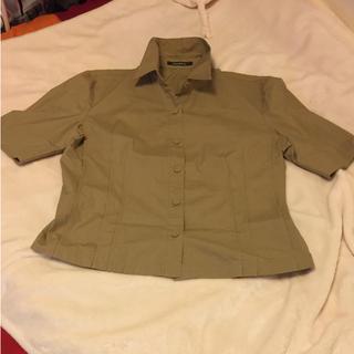 ダナキャランニューヨーク(DKNY)のDKNY  半袖シャツ 美品 大きめサイズ(シャツ/ブラウス(半袖/袖なし))