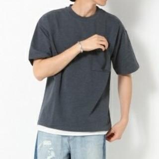 グローバルワーク(GLOBAL WORK)の(新品)GLOBAL WORK メンズ 半袖Tシャツ レイヤード(Tシャツ/カットソー(半袖/袖なし))