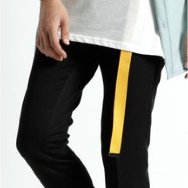 RAGEBLUE(レイジブルー)のRAGEBLUE ロングガチャベルト イエロー メンズのファッション小物(ベルト)の商品写真