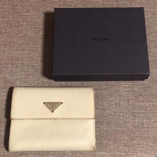 プラダ(PRADA)の箱有り PRADA 三つ折り財布(財布)