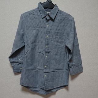 ジーユー(GU)のGU メンズ 七分袖シャツ Sサイズ(シャツ)