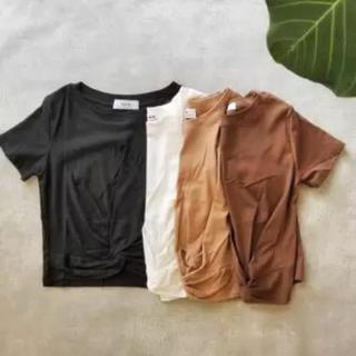 アリエス(aries)のaries ☆ツイストT☆ブラウン(Tシャツ(半袖/袖なし))
