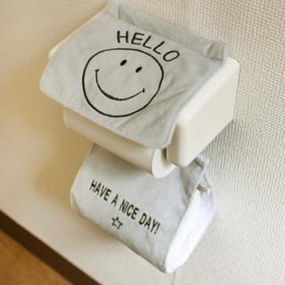 ニコちゃん SMILE ペーパーホルダー 笑顔 スマイル(トイレ収納)