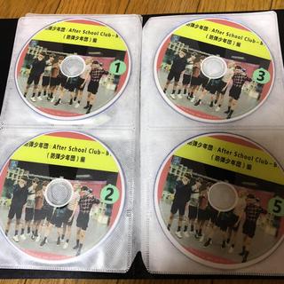 """ボウダンショウネンダン(防弾少年団(BTS))のBTS """"After school club"""" DVD4枚セット 日本語字幕あり(ミュージック)"""