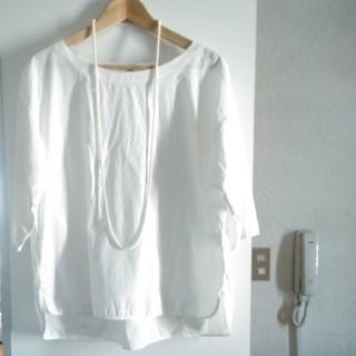 UNIQLO - 美品 ユニクロ ホワイト コットンシャツ
