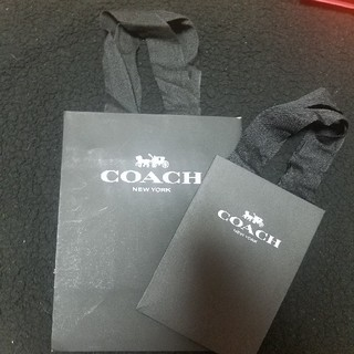 コーチ(COACH)のCOACHショッパー2点セット(ショップ袋)
