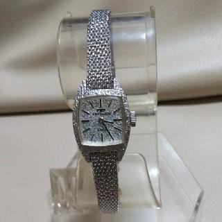 テクノス(TECHNOS)の新品未使用 レア品 稼働品 テクノス レディース 手巻き式 腕時計(腕時計)