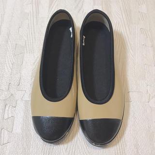 ムジルシリョウヒン(MUJI (無印良品))のフラットシューズ(レインブーツ/長靴)