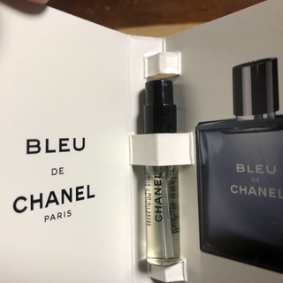 シャネル(CHANEL)のシャネル ブルードゥシャネル EDT SP 2ml(ミニ)(香水(男性用))