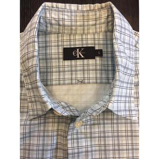 カルバンクライン(Calvin Klein)のCK 半袖シャツ メンズ L(シャツ)