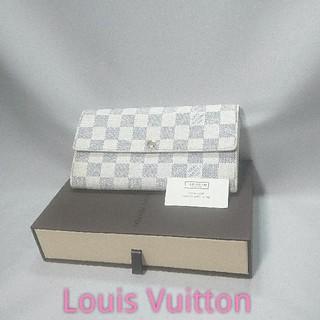 ルイヴィトン(LOUIS VUITTON)の✨美品✨人気モデル❤️Louis Vuitton ダミエ アズール 長財布❤️(財布)