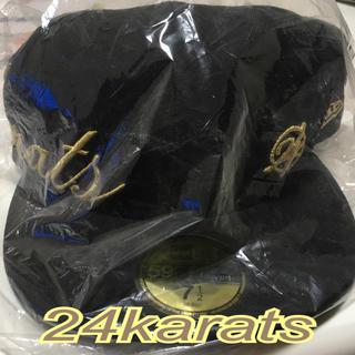 トゥエンティーフォーカラッツ(24karats)の新品☆24karats キャップ☆(ミュージシャン)