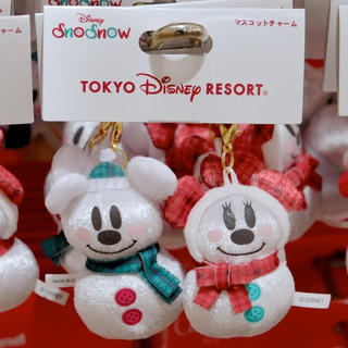 ディズニー(Disney)のディズニー クリスマス 2017 スノースノー マスコットチャーム(チャーム)