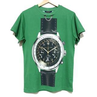 ルイヴィトン(LOUIS VUITTON)の定価15万 新品 18SS ルイヴィトン オーバーサイズ ウォッチ Tシャツ S(Tシャツ(半袖/袖なし))