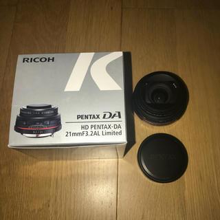 ペンタックス(PENTAX)の【最終値下げ】HD PENTAX-DA 21mmF3.2AL Limited(レンズ(単焦点))