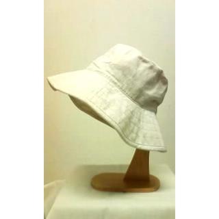 ムジルシリョウヒン(MUJI (無印良品))の無印良品◆オフホワイト◇帽子◇綿麻(ハット)