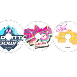 Mカウント+MUSICBANK +音楽中心 3枚セット(180614~16放送分(K-POP/アジア)