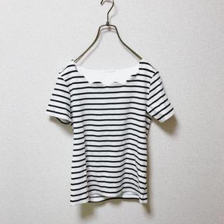 ミューズミューズ(muse muse)のmusemuse ボーダー Tシャツ トップス(カットソー(半袖/袖なし))