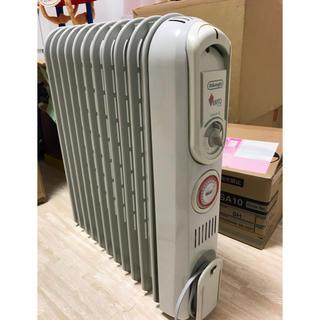 デロンギ(DeLonghi)のデロンギ オイルヒーター V55115EFS 1500W 中古品(オイルヒーター)