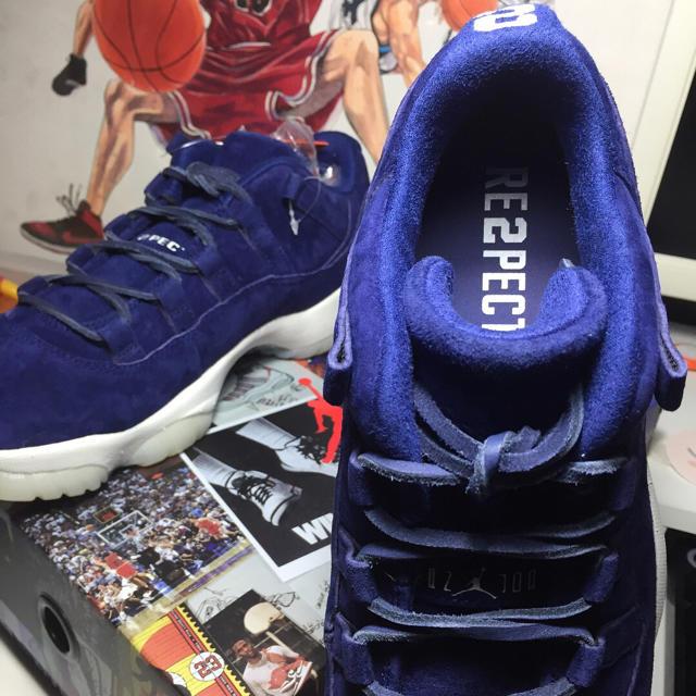 NIKE(ナイキ)のナイキ エアジョーダン11 ロウ リスペクト RE2PECT メンズの靴/シューズ(スニーカー)の商品写真