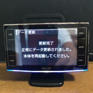 comtec コムテック ZERO75V 中古品 最新データ(レーダー探知機)